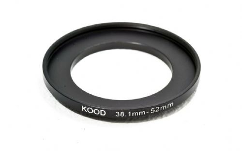 Stepping Ring 38.1-52mm 38.1mm to 52mm Step Up Ring Stepping Ring 38.1-52mm